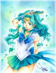 Usagi once commented that Michiru...