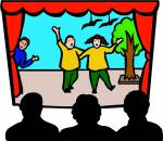 In the school play you would find yourself.