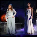 Which two girls have never sung a duet together?