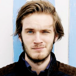 Pewdiepie. . . who came a youtuber in like a few months. let me describe him with this picture, take a look. Fab. If Pewdiepie ever makes a movie. . .