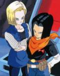 What are the real names of android 17 and 18?