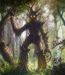 The Ents were created to protect the trees from _____