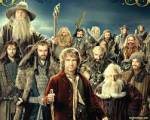 What kind of trees did Bilbo and his friends climb to get away from the wargs and goblins?