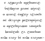 Sindarin was inspired by which two real-world languages?
