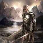 Glorfindel was a mighty Elf who saved Frodo from the Nazgûl. His name was in Sindarin. What is the Quenya equivalent of his name?