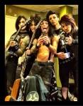 What is the Black Veil Brides fan base called?