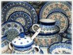In which city Blue Pottery is famous?