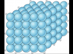 Which matter corresponds to the layout of these particles?