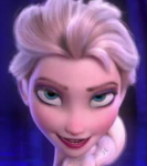 What was the color of Elsa's dress?