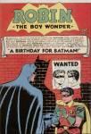 When is Batman's birthday?