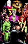 Which one of these is the only Character to Have appeared in Batman's first twelve months in comics?