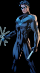 Where does Nightwing get his name from?