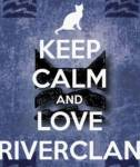 Other than fish, what do RiverClan eat?