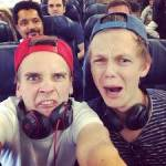 "The name of Joe and Caspar's new film is called ""Joe and Caspar hit the road down under!"""