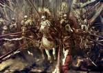 When did the winged hussars arrive?