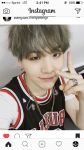 Which hair color did Suga not have?