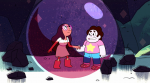 What episode did Steven find out he could bubble (anything)?