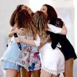 When they were celebrating 4 years of Little Mix, Perrie started crying while singing E.T.
