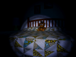How many miniature Nightmare Freddys appear on the bed before Nightmare Freddy can jumpscare you?