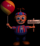 What does Balloon Boy do when he enters your office?