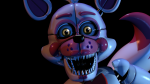 How tall is Funtime Foxy according to their blueprint?