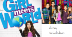 Girl Meets World, a sitcom about a girl and her best friend growing up, has various similarities to iCarly, a sitcom about a girl and her best friend