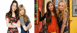 1. The two (four) girls GMW's main characters are Riley and Maya. iCarly's main characters are Carly and Sam. -Both Riley and Carly are the
