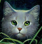 Which cat got taken from ThunderClan right before the Clans left the forest by Twolegs? (Hint: he didn't return until the Clans found their new home