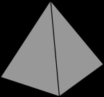 How many vertices does a Pyramid have?