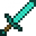 Golden sword is stronger than a Diamond sword.