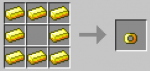 Jewelery can be crafted in Minecraft.