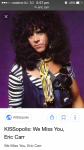 What are one of the songs that Eric Carr drum's in?