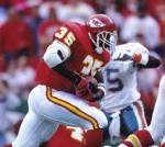 Where did Christian Okoye go to college?