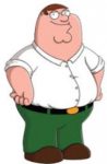 Peter from Family guy is the son.