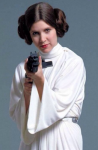Leia from Star Wars is the princess.