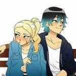 What is the ship name between Chloe and Luka?