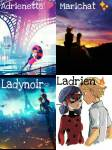 How many Ships are there in the love square [WITH ADRIEN AND MARINETTE]?