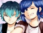 What is the ship between Luka and Marinette?