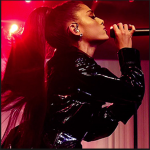 Ariana Grande performing at her 3rd tour the DWT [Dangerous Woman Tour]...