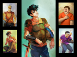 Who is Percy Jackson's half-brother?