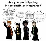 Why would you fight in the Battle of Hogwarts?