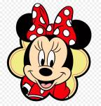 What was the original colour of Minnie Mouse's dress?