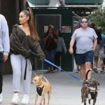 What's the name of Mac Millers dog that Ari is taking care of?