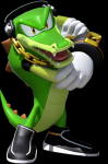 What was Vector's real TRUE appearance?