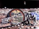 Cars and bases are developing in space, and soon the U.S. Will take over space as a safe zone.