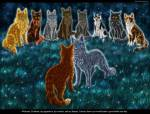 Who gives Firestar his first life?