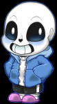 W.D. Gaster is a mysterious character from the game that used to be the royal scientist and can be seen very rarely in the game.