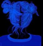 Billie LOVES the color blue?