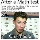 Shawn Doing Math For YOU