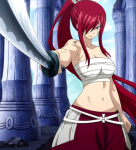 Which is Erza's favourite re-equip?